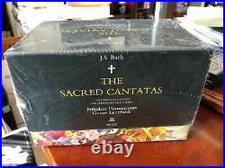 New, Sealed Bach The Sacred Cantatas Harnoncourt / Leonhardt 60 CD Set 2008