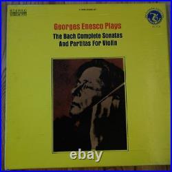 OL 8117/3 Bach Sonatas & Partitas Georges Enesco 3 LP box set