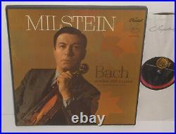 PCR 8370 Bach Partitas And Sonatas For Unaccompanied Violin Nathan Milstein 3LP
