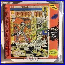PEBBLES Vol 1-10 BOX SET ON CLASSIC BLACK VINYL