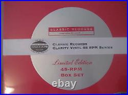 PETER GABRIEL 2 CLASSIC RECORDS 200 GRAM Sealed 45 SPEED AUDIOPHILE RARE 4LP SET