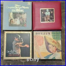 Pallet Mixed Classical Vinyl/Boxsets Japanese Used/Damaged 600+ units
