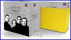 Quartetto Italiano Complete Decca, Philips & DG Recordings (37 CDs)