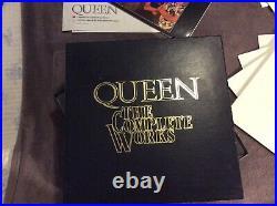 Queen The Complete Works Limited Edition 14 Lp Vinyl Boxset Qb1 1985 (rare)