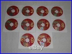 RARE BOX SET 10 CDS! Robert Silverman / Beethoven's 32 Piano Sonatas (tested)
