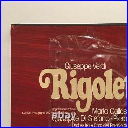 RARE OPERA LIVE Verdi RIGOLETTO Maria Callas 1952 ORIGINAL SEALED VINYL BOX SET
