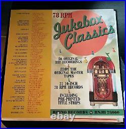 RHINO JUKEBOX CLASSICS 78 rpm Box