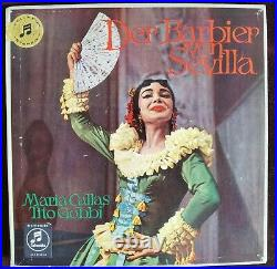 Rare Audiophile Rossini Barber of Seville Callas 3LP Columbia SAX 2266-68 UK ED1