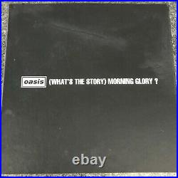 Rare Box Set Deluxe Limited Edition Oasis What's The Story Norning Glory Ex/ex