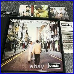 Rare Box Set Deluxe Limited Edition Oasis What's The Story Norning Glory Nm/nm