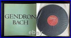 Rare Gendron Bach Solo Cello Suites 3LP Philips 835 272/74 AY Holland