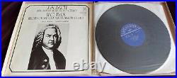 Rare Original Shafran Bach Six Suites For Solo Cello 3LP Melodiya Box Set ED1