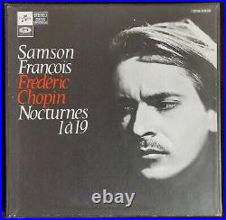 Rare Samson Francois Chopin Nocturnes 2lp Columbia Cchs 1087/8 Stereo French Ed1