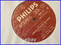 Rare Szeryng / Haebler Beethoven 10 Violin & Sonatas 5 Lp Box On Philips Nm