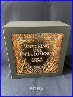 Richard Wagner Der Ring des Nibelungen 22 LP wooden box set DECCA RECORDS