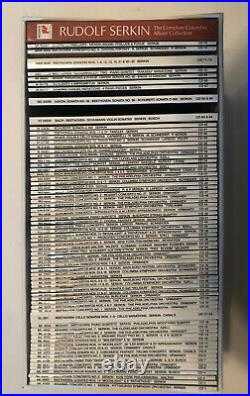 Rudolf Serkin The Complete Columbia Album Collection 75 CD BOX SET