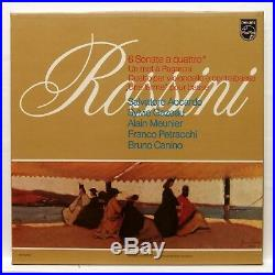 SALVATORE ACCARDO ROSSINI 6 sonate a quattro PHILIPS orig 2xLPs box