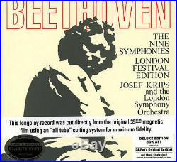 SDBR 3065 Josef Krips/LSO BEETHOVEN 9 SYMPHONIES 11LPs AUDIOPHILE CLASSIC RECORD