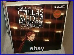SERAFIN / CALLAS / CHERUBINI medea (classical) box columbia sax 2290 BOOKLET