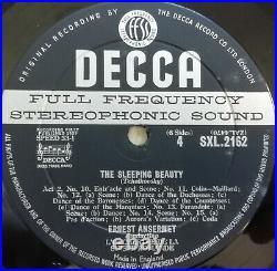 SXL 2160-1-2 ED1 Tchaikovsky Sleeping Beauty Ansermet NM 3xLP Decca 1st WBG