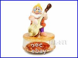 Schmid Disney Classic Figurine Seven Dwarfs 7 Pieces Set with Music Box Japan