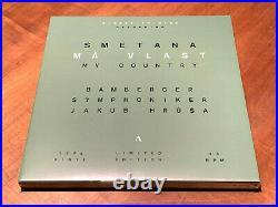 Smetana Ma Vlast JAKUB HRUSA ACCENTUS 3x 180g VINYL LP BOX Direct-To-Disc SEALED