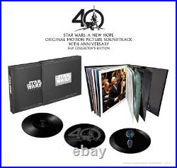 Star Wars A New Hope 3 x LP Collectors Edition OOP John Williams