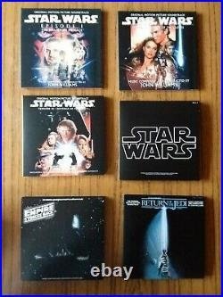 Star Wars The Ultimate Soundtrack Collection 10 CD Box Set John Williams