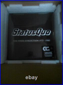 Status Quo The Vinyl Collection 1972-1980 NEWithSEALED VINYL BOX SET