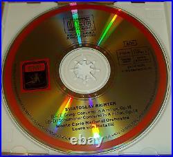 Sviatoslav Richter Mozart Beethoven Grieg Schumann Schubert EMI 4CD