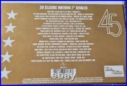TAMLA MOTOWN 20 CLASSIC 45s 7 SINGLES BOX SET BOXSET RARE NORTHERN SOUL LTD ED