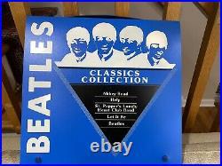 THE BEATLES Classics Collection 5 LP Blue Plastic Box Set EMI Recording