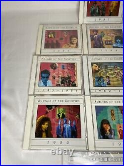 TIme Life Lot of 12 Sounds Of The 80s Eighties Rock Pop Classics Set 3 SEALED