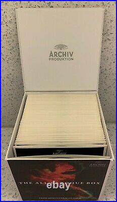 The All-Baroque Box From Monteverdi to Bach (50 CDs, Archiv Produktion) Limited