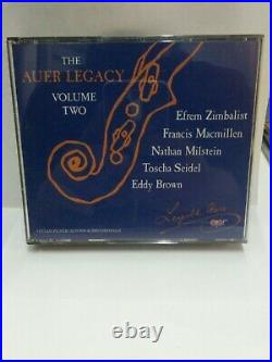The Auer Legacy Volume Two 2 CD Set