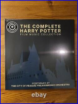 The Complete Harry Potter Film Music Collection 3 Vinyl Lp New
