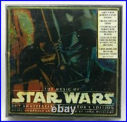 The Music of Star Wars 30th Anniversary Collectors Ed Limited NEW 7CD Box Set