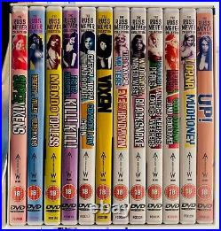 The Russ Meyer Collection 19 Uplifting Classics DVD Box Set Ships From USA