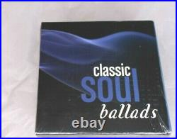 Time Life Classic Soul Ballads 144 Songs on 10 CDs SEALED, NEW IN PACKAGE