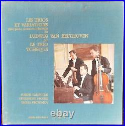 Trio Tcheque Beethoven Le Chant Du Monde Deluxe 5lp Stereo Box Ldx. A 48344-48
