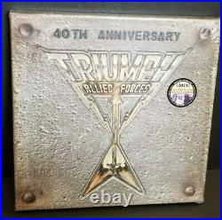 Triumph Allied Forces 40th Anniversary Box Set RSD vinyl Record Store Day 2021