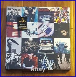 U2 Achtung Baby 4 LP Vinyl Box Set Brand New Sealed