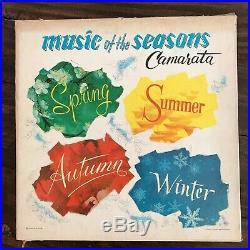 VERY RARE Camarata MUSIC OF THE SEASONS LP SET With SUPER RARE BOX