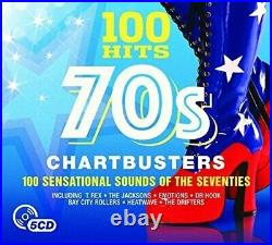 Various Artists 100 Hits 70s Chartbusters Various Artists CD 0QVG The Cheap