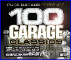 Various Artists Pure Garage Presents 100 Garage C. Various Artists CD 8SVG