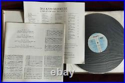 Very Rare Audiophile Harnoncourt Bach Cantatas Vol. 45 2lp Teldec 244 194-1 Ed1