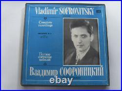 Vladimir SOFRONITSKY Complete recordings Vol. 6, 7, 8, 9, 12 Five box sets 28LP