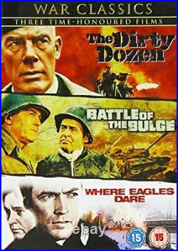 War Classics Collection Where Eagles Dare / The Dirty Dozen / Ba. DVD WWVG