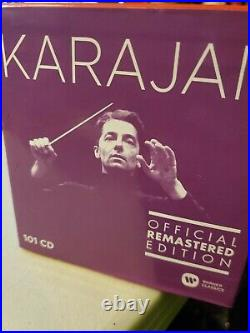 Warner Classics Karajan Official Remastered Edition 101 CD Collection