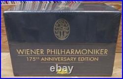 Wiener Philharmoniker 175th Anniversary 44 CD DVD Box Set Ss Still Sealed Dg Eu